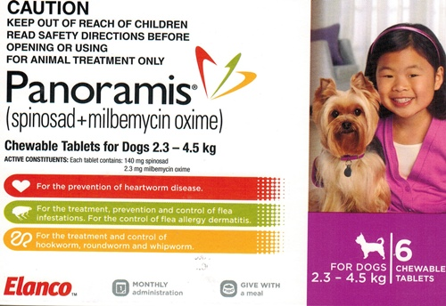Panoramis For Dogs Flea And Worm Control Review